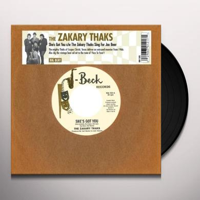 SHE'S GOT YOU/THE ZAKARY THAKS SING FOR JAX BEER Vinyl Record