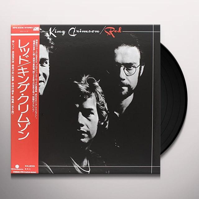 King Crimson RED Vinyl Record
