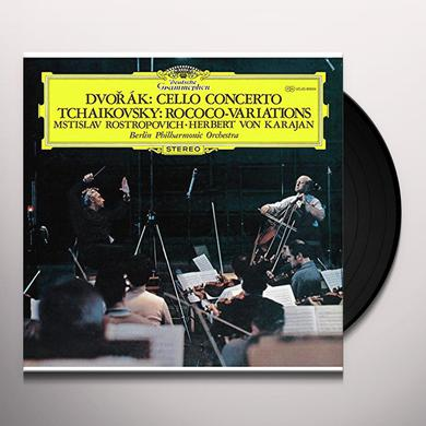 Dvorak CELLO CONCERTO/TCHAIKOVSKY Vinyl Record