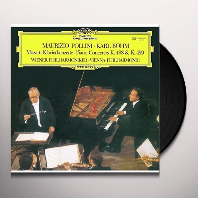 W.A. Mozart PIANO CONCERTOS NOS. 23 & 19 Vinyl Record - Japan Import