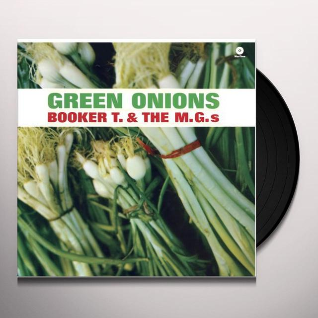 Booker T. & The MG's GREEN ONIONS Vinyl Record - Spain Import
