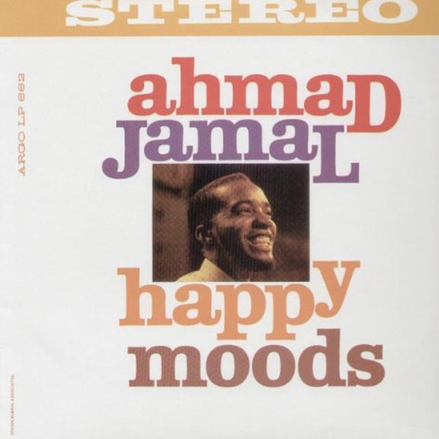 Ahmad Jamal HAPPY MOODS Vinyl Record - Spain Import