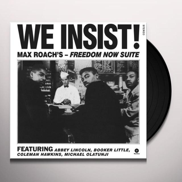 Max Roach WE INSIST! Vinyl Record - Spain Import