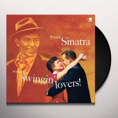 Frank Sinatra SONGS FOR SWINGIN LOVERS Vinyl Record - Spain Import