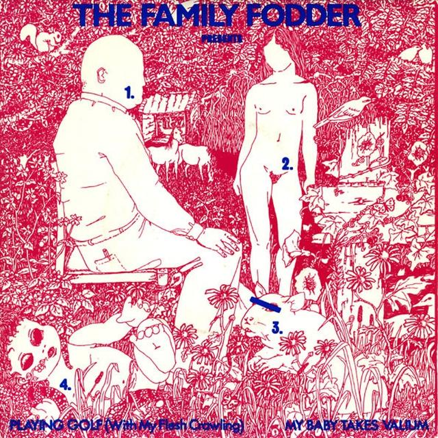 Family Fodder PLAYING GOLF Vinyl Record - UK Import