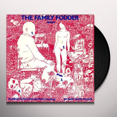 Family Fodder PLAYING GOLF Vinyl Record - UK Import