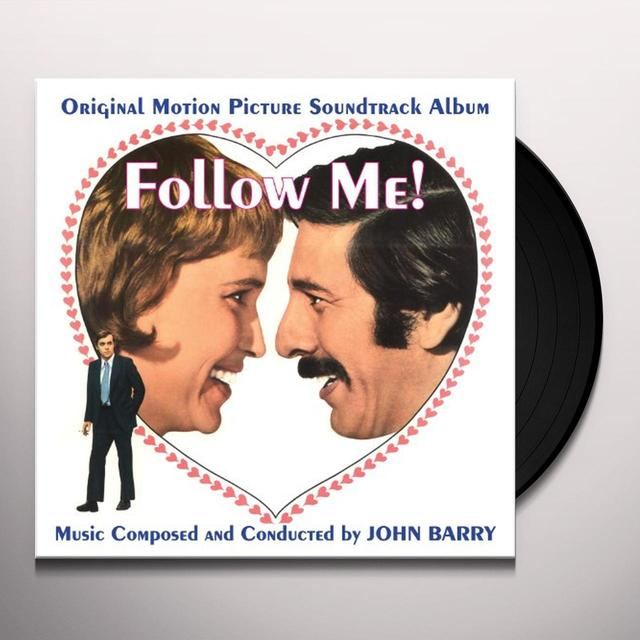 John Barry FOLLOW ME Vinyl Record