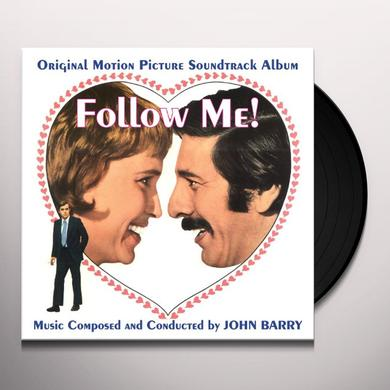 John Barry FOLLOW ME Vinyl Record - UK Import