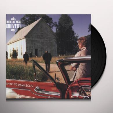 Big Country DRIVING TO DAMASCUS Vinyl Record - UK Import