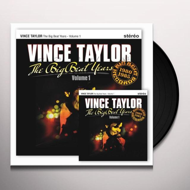 Vince Taylor THE BIG BEAT YEARS 1 Vinyl Record