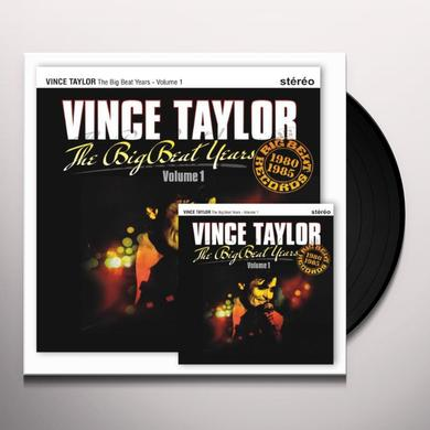 Vince Taylor THE BIG BEAT YEARS 1 Vinyl Record - Canada Import