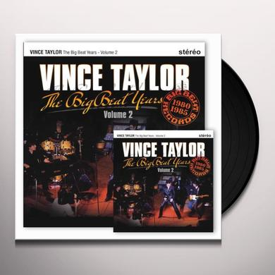 Vince Taylor THE BIG BEAT YEARS 2 Vinyl Record - Canada Import