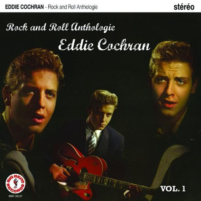 Eddie Cochran ROCK ANTHOLOGIE 1 Vinyl Record - Canada Import