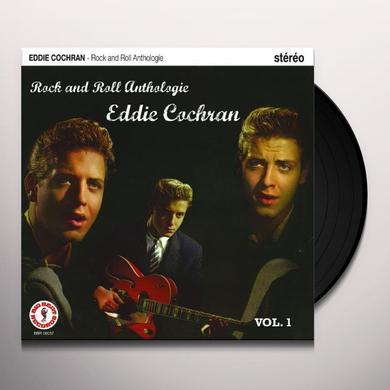 Eddie Cochran ROCK ANTHOLOGIE 1 Vinyl Record - Canada Import