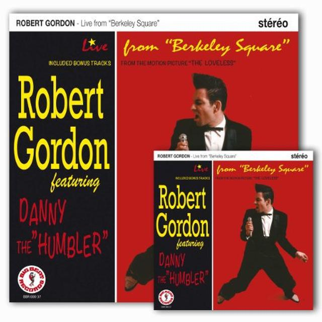 Robert Gordon LIVE FROM BERKELEY SQUARE LP Vinyl Record