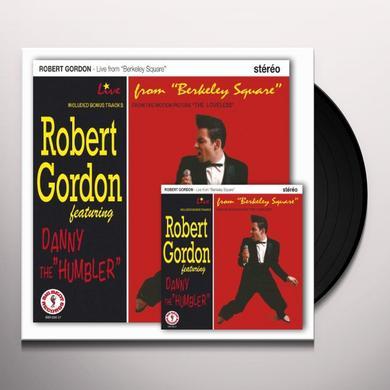 Robert Gordon LIVE FROM BERKELEY SQUARE LP Vinyl Record