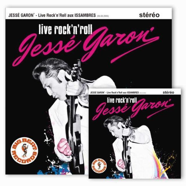 Jesse Garon LIVE ROCK & ROLL LP Vinyl Record - Canada Import