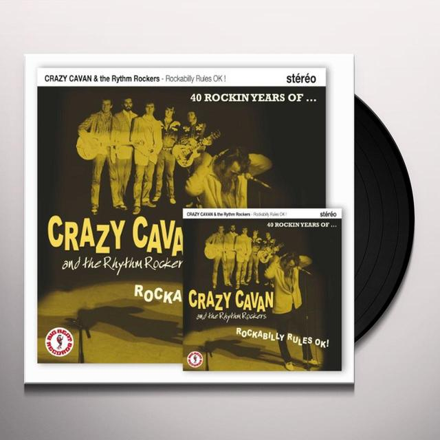 Crazy Cavan & The Rhythm Rockers ROCKABILLY RULES OK! LP Vinyl Record