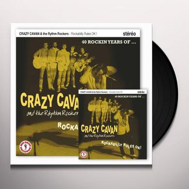 Crazy Cavan & The Rhythm Rockers ROCKABILLY RULES OK! LP Vinyl Record - Canada Import