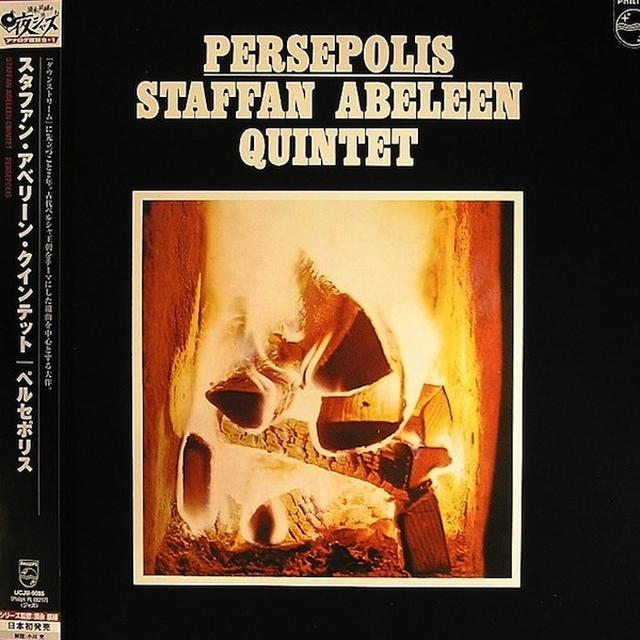 Staffan Abeleen PERSEPOLIS Vinyl Record - Japan Import