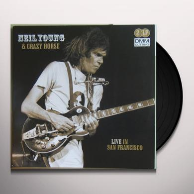 Neil Young LIVE IN SAN FRANCISCO Vinyl Record - Holland Import