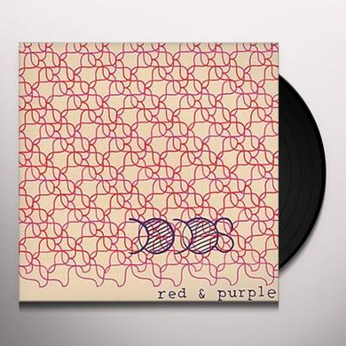 Dodos RED & PURPLE Vinyl Record - UK Import