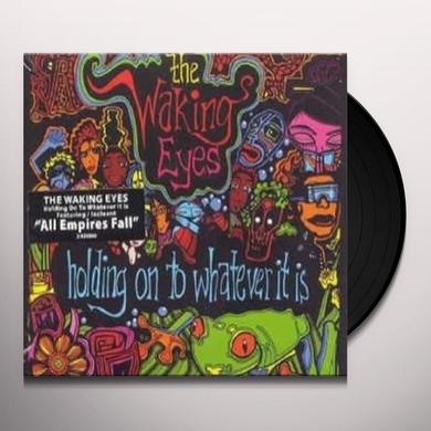 Walking Eyes HOLDING ON TO Vinyl Record - Canada Import