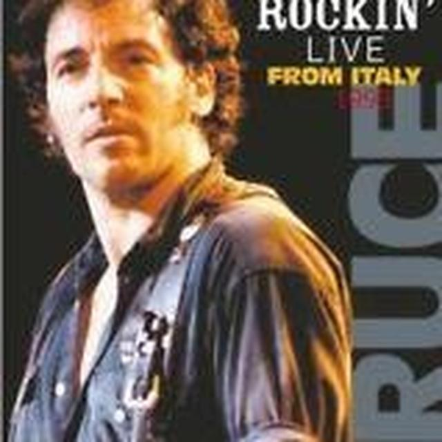 Bruce Springsteen ROCKIN'-LIVE FROM ITALY-1993 Vinyl Record - Holland Release