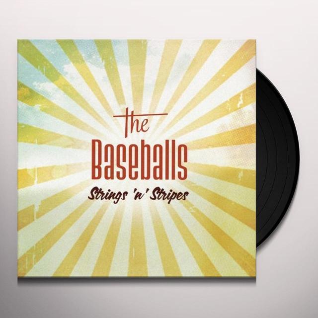 Baseballs STRINGS N STRIPES Vinyl Record