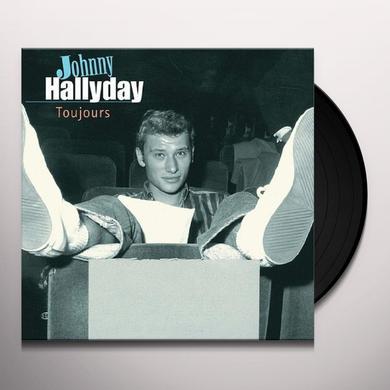 Johnny Hallday TOUJOURS Vinyl Record - Holland Import