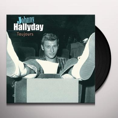 Johnny Hallday TOUJOURS Vinyl Record - Holland Import