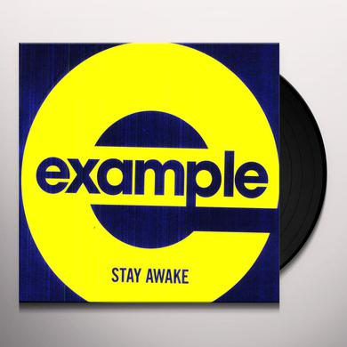 Example STAY AWAKE Vinyl Record