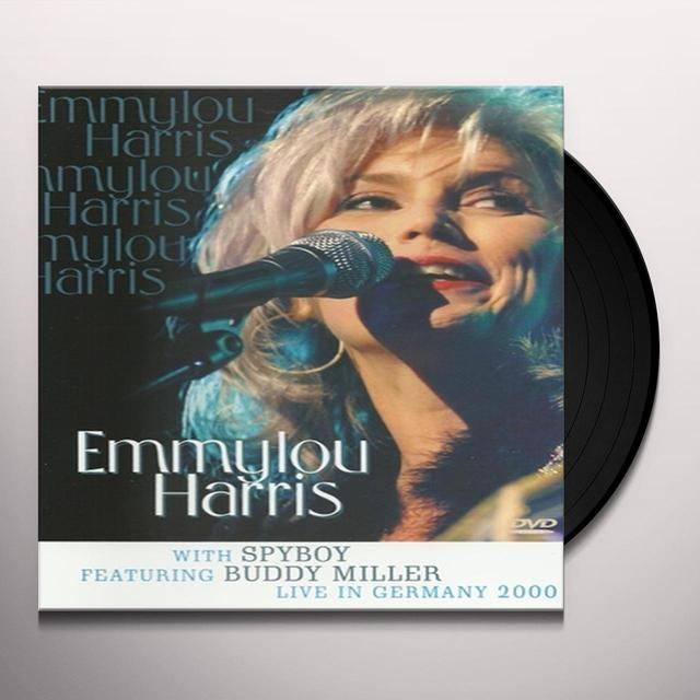 Emmylou Harris LIVE IN GERMANY 2000 Vinyl Record - Holland Release
