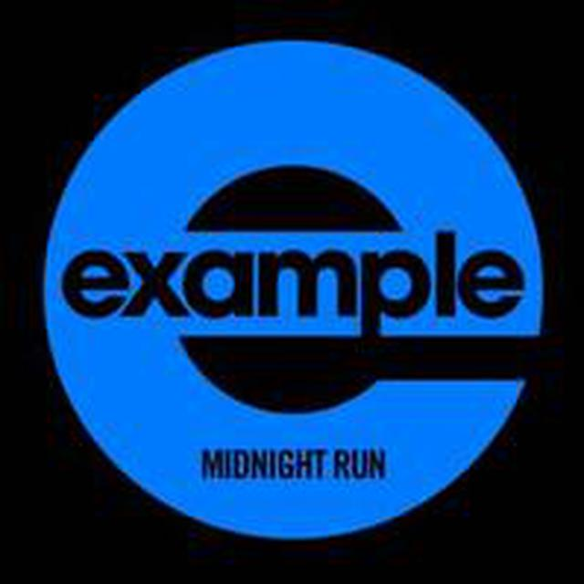 Example MIDNIGHT RUN Vinyl Record