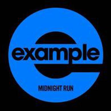 Example MIDNIGHT RUN Vinyl Record