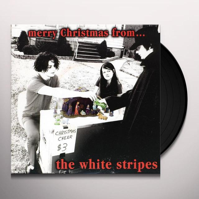 The White Stripes CANDY CANE CHILDREN Vinyl Record - UK Import