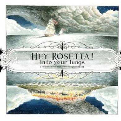 Het Rosetta INTO YOUR LUNGS (& AROUND IN YOUR HEART & ON THROU Vinyl Record