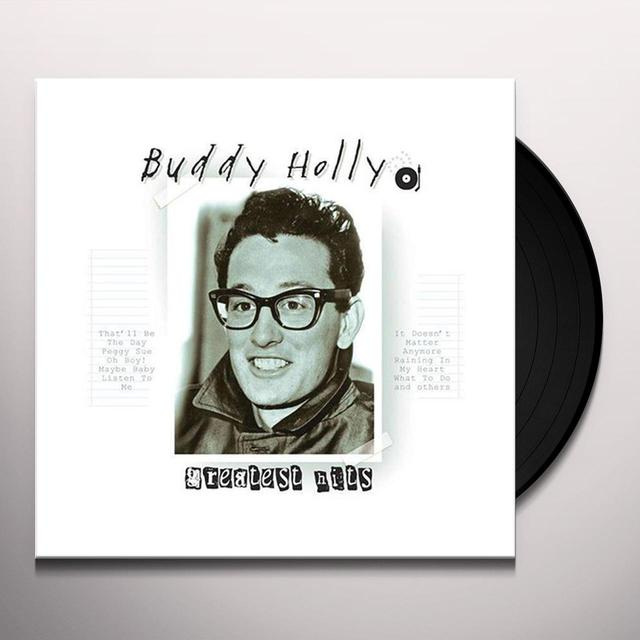 Buddy Holly GREATEST HITS Vinyl Record
