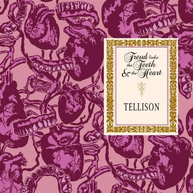 Tellison FREUD LINKS THE TEETH & THE HEART Vinyl Record - UK Import
