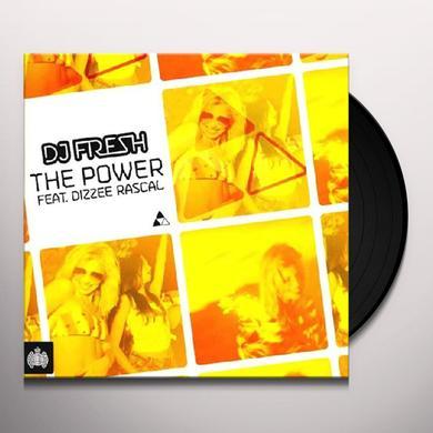 Dj Fresh Feat. Dizzee Rascal POWER Vinyl Record - UK Import