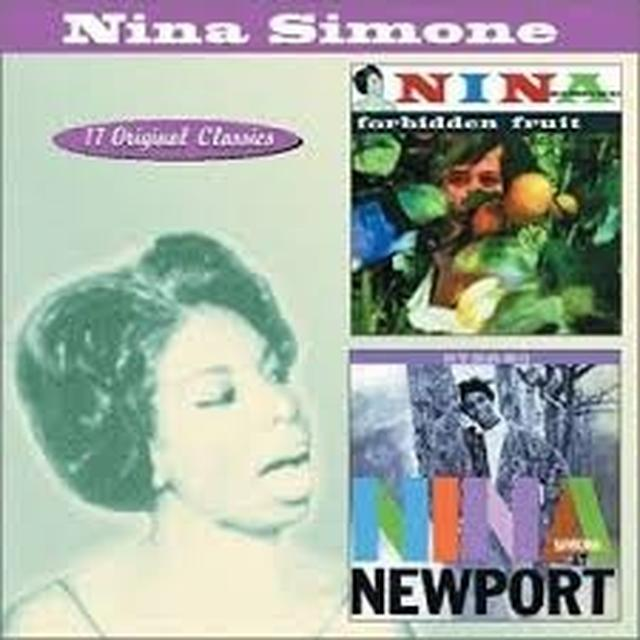 Nina Simone AT NEWPORT/FORBIDDEN FRUIT Vinyl Record - Holland Import