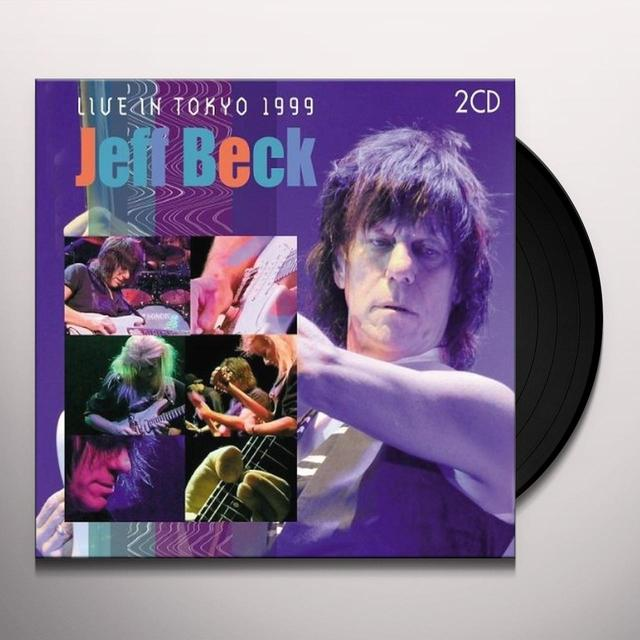 Jeff Beck LIVE IN TOKYO 1999 Vinyl Record - Holland Release