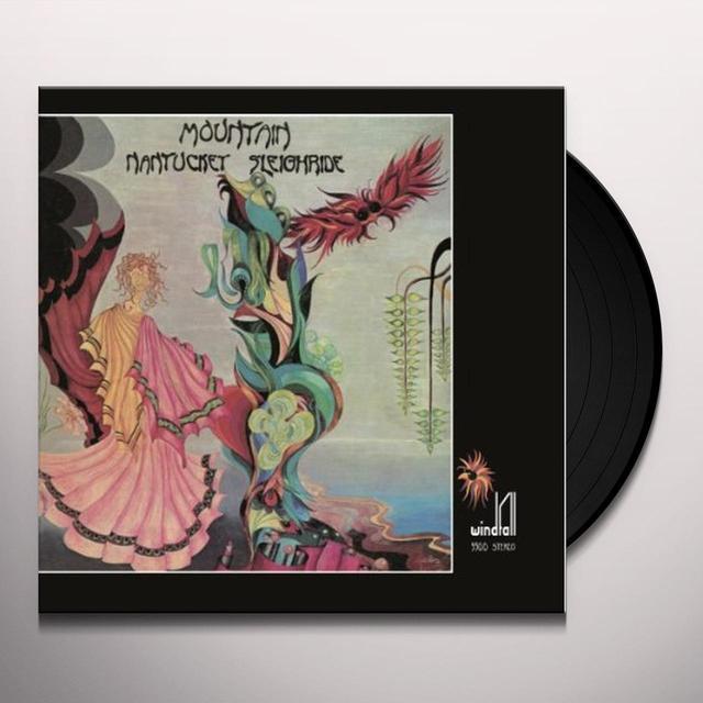 Mountain NANTUCKET SLEIGHTIDE Vinyl Record - Holland Release