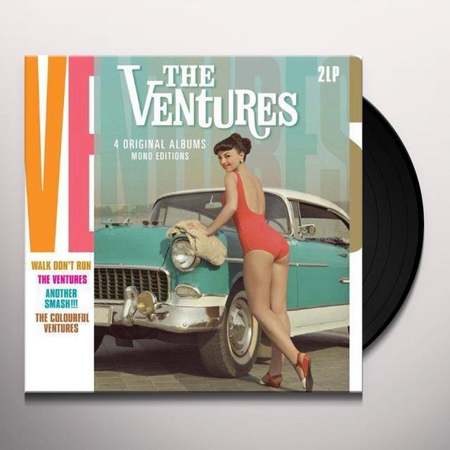 Ventures 4 ORIGINAL ALBUMS-MONO EDITIONS Vinyl Record - Holland Import