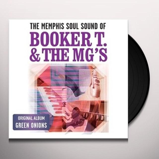 Booker T. & the M.G.'s MEMPHIS SOUL SOUND OF Vinyl Record - Holland Import
