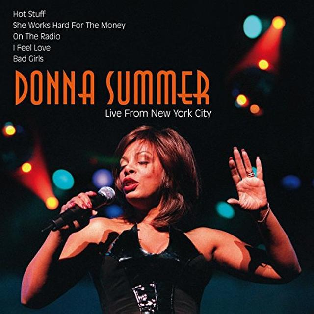 Donna Summer LIVE FROM NEW YORK CITY Vinyl Record - Holland Import