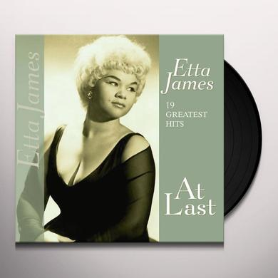 Etta James 19 GREATEST HITS-AT LAST Vinyl Record - Holland Import