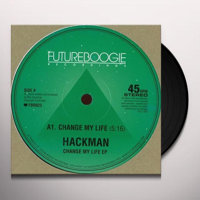Hackman CHANGE MY LIFE EP Vinyl Record - UK Release