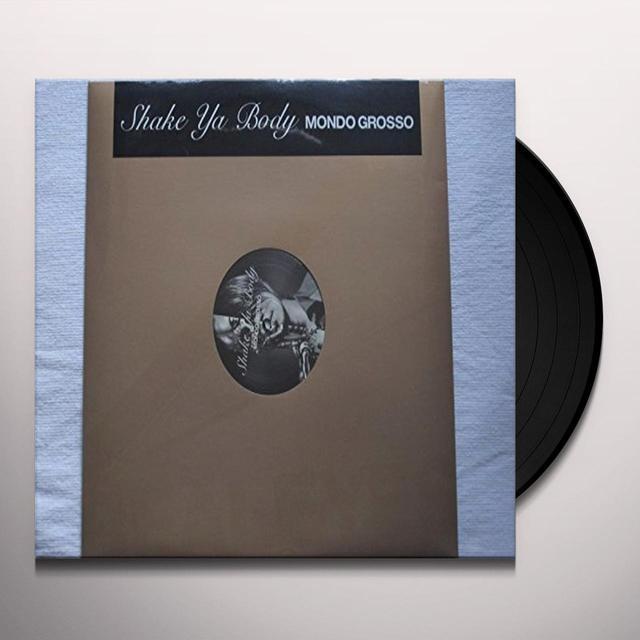 Mondo Grosso SHAKE YA BODY Vinyl Record - Japan Import