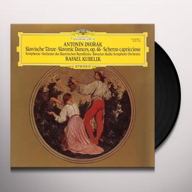 Rafael/Brso Kubelik DVORAK: SLAVONIC DANCE OP.46 Vinyl Record - Japan Import